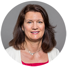 Ann Linde, Minister of Trade, Sweden