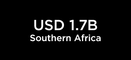 USD 1.7B Southern Africa