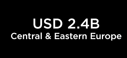 USD 2.4B Central & Eastern Europe