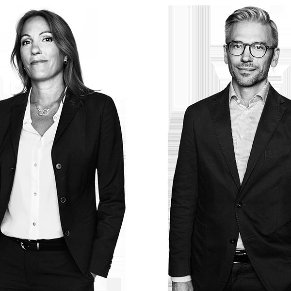 Nina Lindberg och Carsten Grönblad