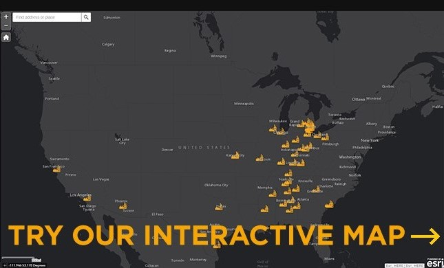 Try our interactive map